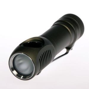 【拡散レンズ搭載モデル】 ZEBRALIGHT SC51Fw AA Floody Flashlight / Cree XP-G Neutral White|holkin