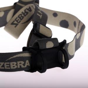 【本体色:黒】Zebralight ゼブラライト H31 ,H32 ,H302用 ライト取付部ホルダー:ブラック色シリコン製  ※ヘッドバンド、ライトは別売|holkin