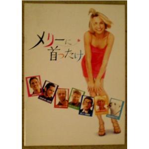 メリーに首ったけ キャメロンディアス主演 日本版パンフレット...