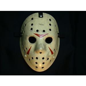 ジェイソン ホッケーマスク3-2 プロップレプリカ ファイバーグラス製 (取り寄せオーダー)