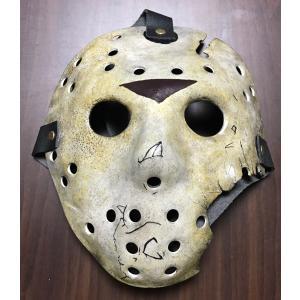 ジェイソン ホッケーマスク 7(スクラッチ版) プロップレプリカ ファイバーグラス製 在庫有り 再入荷!