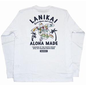 SALE ハワイアン雑貨  ALOHA MADE アロハメイド メンズ 長袖 Tシャツ ロングTシャ...