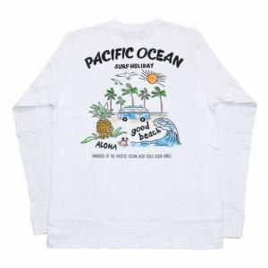 SALE  ALOHA MADE アロハメイド メンズ 長袖 Tシャツ (メンズ/ホワイト) 194...