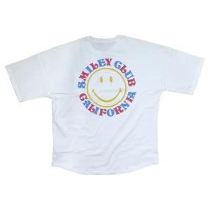 ハワイアン メンズ 半袖 Tシャツ ハワイアン雑貨 アロハ スマイル Cali Surf 発泡プリント (メンズ/ オフホワイト) 212CF1ST023|holoholo