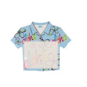 ハワイアン雑貨 付箋 ふせん ポストイット 文具 メモ帳 アイランドヘリテージ Island Heritage(アロハブルー) Tシャツ型ノート メール便対応可 ハワイアン 雑貨|holoholo