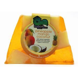 ハワイ お土産 バブルシャック パイナップル チャンクソープ 石鹸 (マンゴーココナッツ) ハワイアン雑貨 ハワイ 雑貨 土産 おみやげ|holoholo