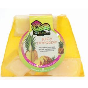 ハワイ お土産 バブルシャック パイナップル チャンクソープ 石鹸 (パイナップル) ハワイアン雑貨 ハワイ 雑貨 土産 おみやげ|holoholo