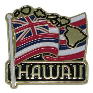 ハワイアン雑貨 ハワイ 雑貨 マグネット おしゃれ メタル マグネット フラッグ メール便対応可 磁石 冷蔵庫 ホワイトボード ハワイ お土産|holoholo