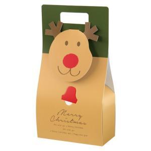 ギフト用 クリスマスオールドトナカイ ギフトBOXバッグ型|holoholo
