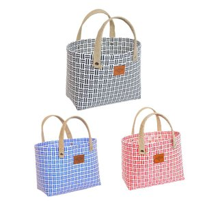 在庫処分セール プラカゴ バッグ お買い物カゴ トートバッグ ランチトートバッグ