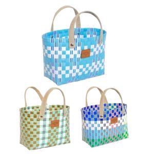 在庫処分セール プラカゴ バッグ (カラフル) お買い物カゴ トートバッグ ランチトートバッグ