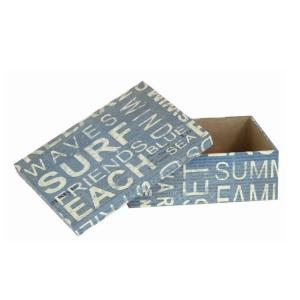 ギフトボックス 西海岸風のかっこいい リサイクルペーパー使用のボックス (Sサイズ)|holoholo