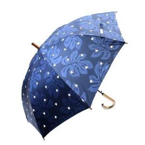 ハワイアン人気モチーフのモンステラに亀柄ドットで 大人ハワイアンな傘です。  憂鬱な雨の日も楽しめそ...