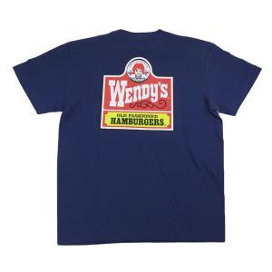 半袖 Tシャツ メンズ ハワイアン 雑貨 Wendys ハワイアン ウェンディーズ (メンズ/インディゴ) WSOP-2104 ハワイアン雑貨|holoholo