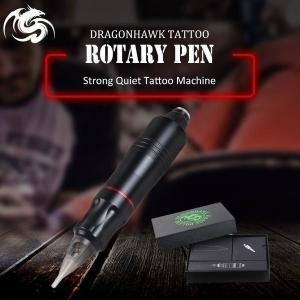 一台 タトゥー ロータリー ペンハイブリッド アートメイク タトゥーマシン 強力な 静かな モーター...