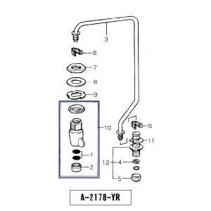レバー式水栓本体 A-2178-YR home-design