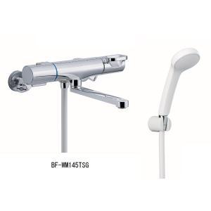 LIXIL 【INAX】 浴室用水栓金具 壁付タイプ サーモスタット付シャワーバス水栓 エコフルスプレーシャワー付 BF-WM145TSG home-design
