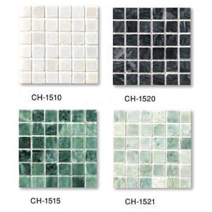 MARBLE MOSAIC 大理石モザイク  15角裏ネット貼り  CH-○○(色番:○○)|home-design