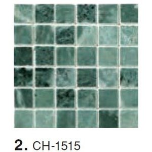 MARBLE MOSAIC 大理石モザイク 15角裏ネット貼り CH-1515|home-design