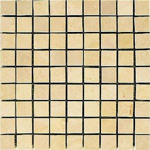 MARBLE MOSAIC 大理石モザイク 15角裏ネット貼り CH-1517|home-design