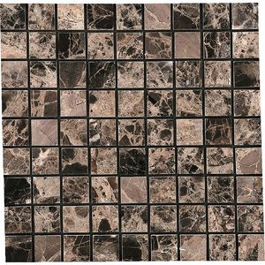MARBLE MOSAIC 大理石モザイク 15角裏ネット貼り CH-1561|home-design