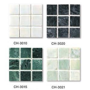 MARBLE MOSAIC 大理石モザイク  30角裏ネット貼り  CH-○○(色番:○○)|home-design