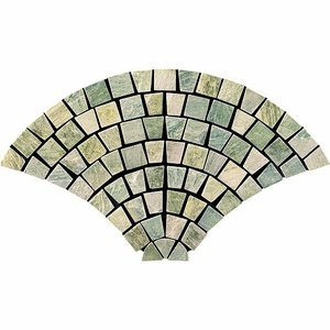 QUATZITE STONE クォーツストン<br>ウロコパターン裏ネット貼り<br>CH-UROKO(G)|home-design