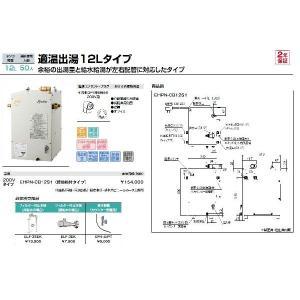 小型電気温水器(ゆプラス) EHPN-CB12S1|home-design