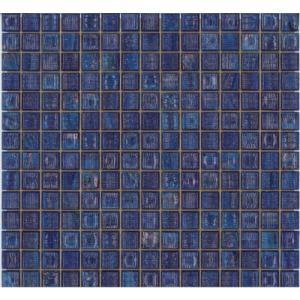 ビザッツァ ガラスモザイク20 G-115(D)ブルー home-design
