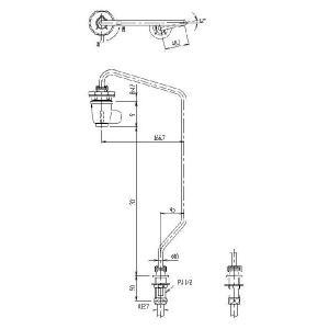 【LIXIL】INAX 水栓部品 レバー式水栓部 LF-75L home-design