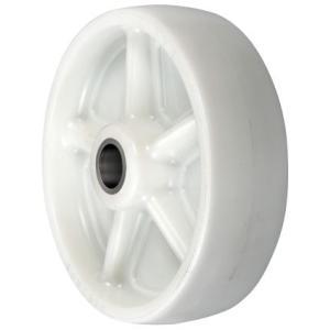 中荷重用車輪:P型 ナイロン車輪(滑り軸受け) サイズ130mm 【PNA-130】|home-design
