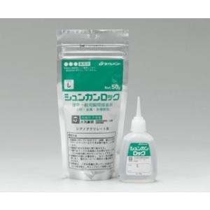 【タイルメント】瞬間接着剤 シュンカンロック 50g L形:低粘度タイプ 20入り/箱|home-design