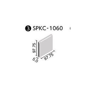 LIXIL ミスティパレット ブライト釉 100mm角片面取(バラ) SPKC-1060/B○|home-design