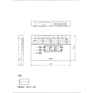 TOTO TCF4141AW用リモコン TCH754-6R トイレ|home-design