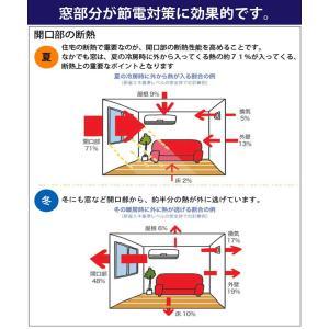 カーテン 4枚組 送料無料 ブラザー 遮光&ミラーレースの4枚組カーテン|home-fashion-rush|10