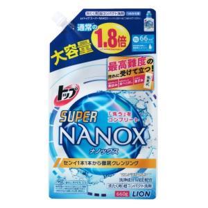 【あわせ買い1999円以上で送料無料】トップ スーパーNANOX(ナノックス) つめかえ用 大 660g|home-life