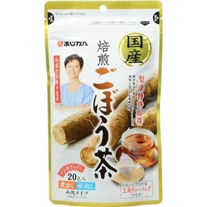 【あわせ買い1999円以上で送料無料】あじかん 国産焙煎 ごぼう茶 (ティーバッグ) 20包