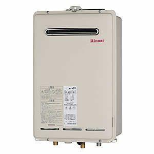 リンナイ ガス給湯器 RUX-A1610W-E ユッコUF 給湯専用 16号 屋外壁掛・PS設置型|homeassist