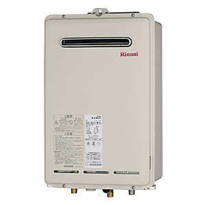 リンナイ ガス給湯器 RUX-A2010W-E ユッコUF 給湯専用 20号 屋外壁掛・PS設置型|homeassist