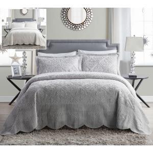 VCNY Home(ヴィクトリアクラシックス)の3ピースベッドスプレッド(Bedspread Set...