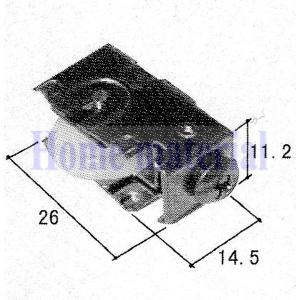 三協アルミ 玄関引き戸 部品 戸車 部品番号 3K2212 2個|homematerial