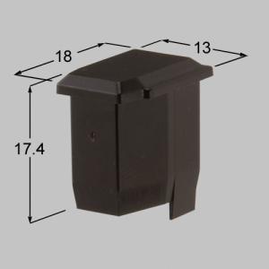 送料込み TOEX 門まわり 門扉 ハイ千峰小桟キャップ MB 商品コード :AEG01040A 4個|homematerial