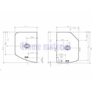 お風呂のふた TOTO 風呂ふた 軽量把手付組み合わせ式 組みふた 断熱 外寸:1175×823mm EKK81119WL5 トト homematerial