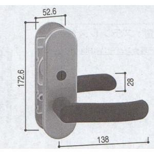 YKK 浴室 浴室ドア用部品 レバーハンドル 品番:HH−2K-16312 管理ナンバー YKB09010 梱包内容:2K-16312:1個|homematerial