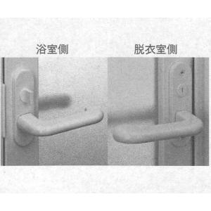 YKK 浴室 浴室ドア用部品 レバーバンドル 品番::HH-J-0759 管理ナンバー YKB09006 梱包内容:K-36678:1個(錠ケ一スは別途:HH-J-0758)|homematerial