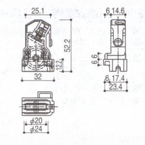 YKK 浴室 浴室ドア用部品 戸車 品番:HH−K-39720 (代替品 2K-32534) 管理ナンバー YKB09061|homematerial