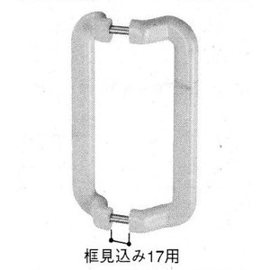 YKK 浴室 浴室ドア用部品 大型引手 品番:HH−N-0037 管理ナンバー YKB09054 梱包内容:K-35730:1個・取付ネジ:2本(K-39816同等品)|homematerial