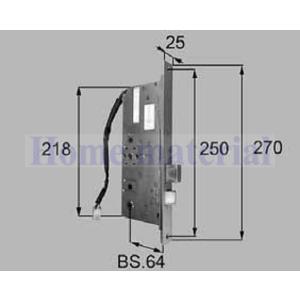 LIXIL リクシル トステム ドア 電気錠システム用メイン電気箱錠(注)  商品コード QDA449A 1Set homematerial