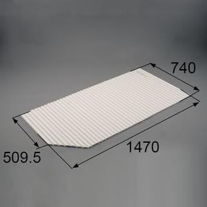 トステム お風呂のふた バスルーム 風呂ふた 巻きふた (左用) 商品コード : RGFZ114|homematerial