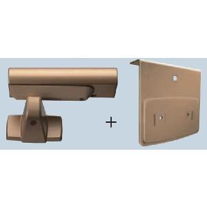 開き戸ダンパー RP861-ZA ゴールド色 1個 homematerial